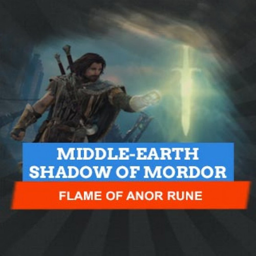 Middle-Earth Shadow Of Mordor Flame Of Arnor Rune