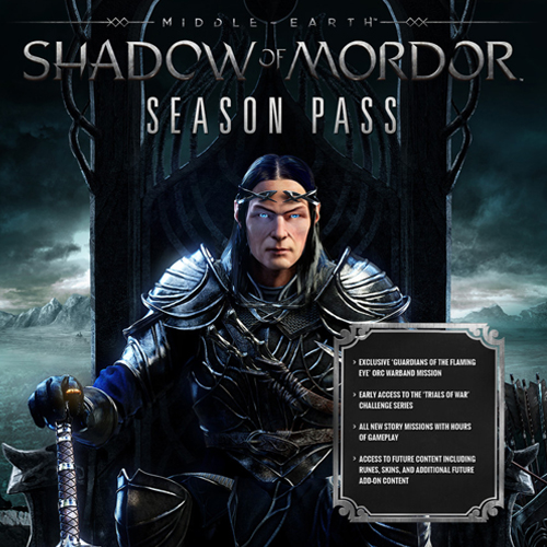 Middle Earth Shadow of Mordor Season Pass