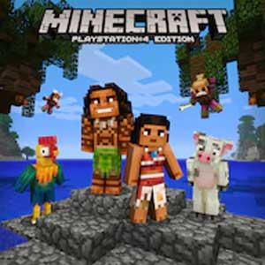 Acheter Minecraft Moana Character Pack PS4 Comparateur Prix