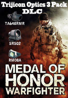 Medal of Honor Warfighter DLC Trijicon Optics 3 Pack