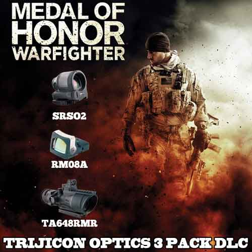 Acheter Medal of Honor Warfighter DLC Trijicon Optics 3 Pack clé CD Comparateur Prix