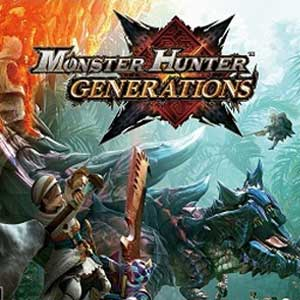 Acheter Monster Hunter Generations Nintendo 3DS Download Code Comparateur Prix