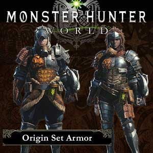 Acheter Monster Hunter World Origin Armor Set Clé CD Comparateur Prix