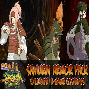 Telecharger Naruto Shippuden Ultimate Ninja Storm Revolution Samurai Armor Pack PS3 code Comparateur Prix