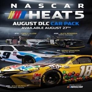 NASCAR Heat 5 August Pack