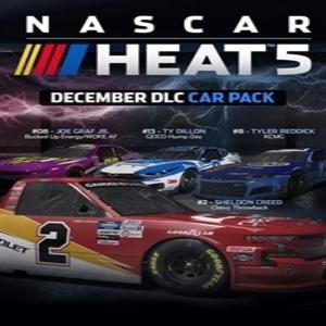 NASCAR Heat 5 December Pack