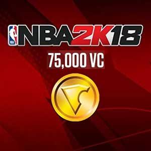 NBA 2K18 75000 VC
