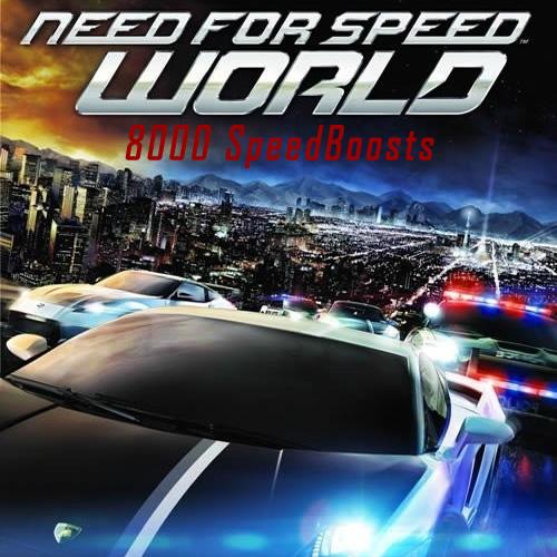 Acheter Need for Speed World 8000 SpeedBoosts Clé Cd Comparateur Prix