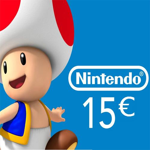 Acheter Nintendo eShop 15 Euro Carte à Points Comparateur Prix