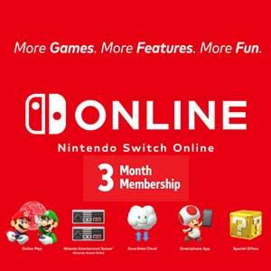 Nintendo Switch Online 3 Mois
