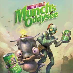 Acheter Oddworld Munchs Oddysee Clé Cd Comparateur Prix