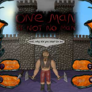 Acheter One Man Is Not No Man Clé Cd Comparateur Prix