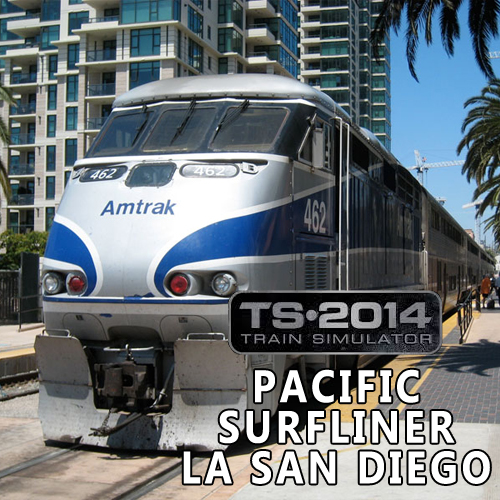 Acheter Train Simulator Pacific Surfliner LA San Diego Cle Cd Comparateur Prix