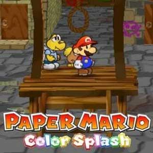Acheter Paper Mario Color Splash Wii U Download Code Comparateur Prix