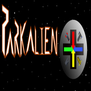 Parkalien a ludo in the space