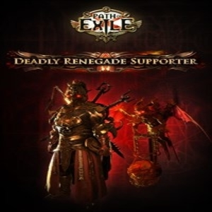 Path of Exile Deadly Renegade Supporter Pack