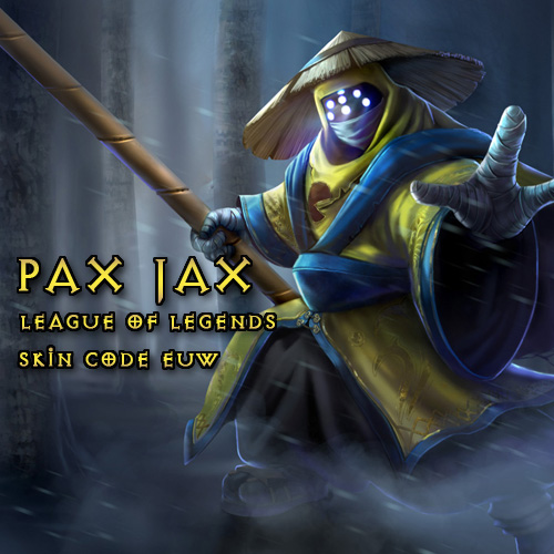 Pax Jax Skin League Of Legends EU West