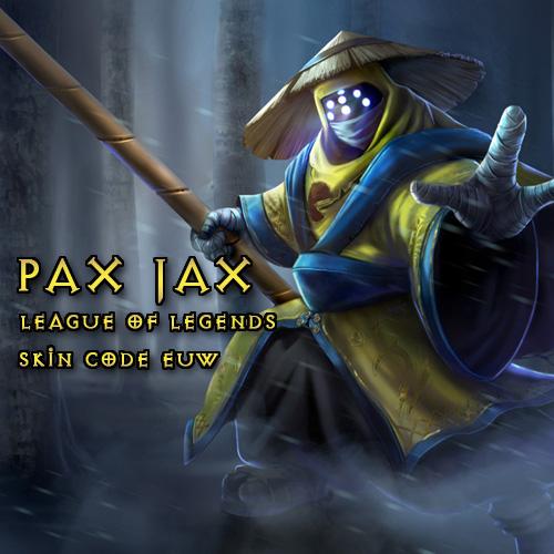 Acheter Pax Jax Skin League Of Legends EU West Gamecard Code Comparateur Prix