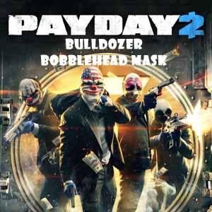 PAYDAY 2 Bulldozer Bobblehead Mask