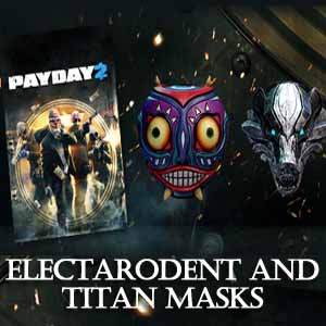 Acheter PAYDAY 2 Electarodent and Titan Masks Clé Cd Comparateur Prix