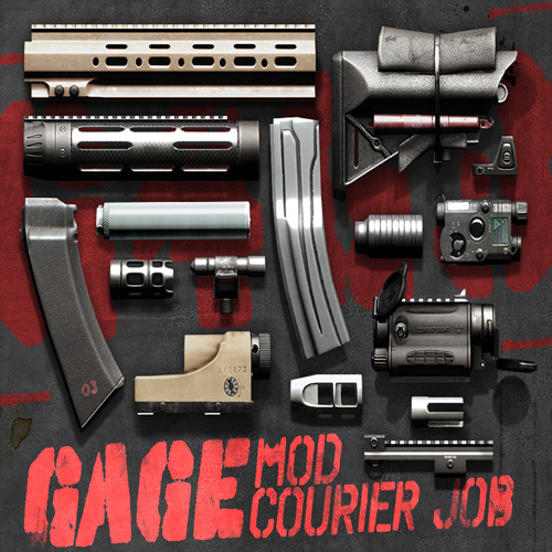 Acheter PAYDAY 2 Gage Mod Courier Cle Cd Comparateur Prix