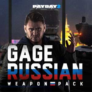 PAYDAY 2 Gage Russian Weapon Pack