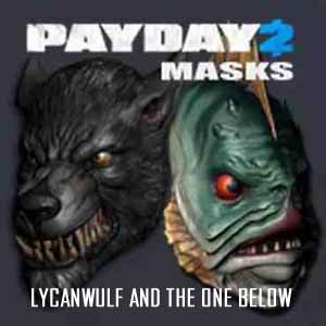 Acheter PAYDAY 2 Lycanwulf and The One Below Masks Clé Cd Comparateur Prix
