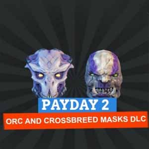 Acheter Payday 2 Orc and Crossbreed Masks Clé Cd Comparateur Prix