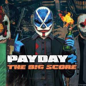 Telecharger Payday 2 The Big Score PS4 code Comparateur Prix