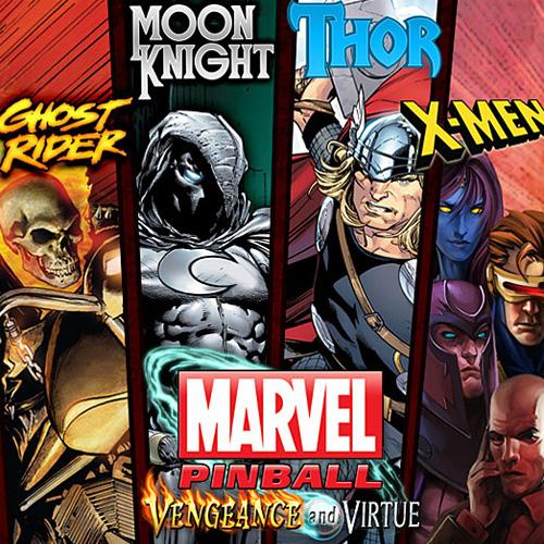 Pinball FX2 Marvel Pinball Vengeance and Virtue Pack