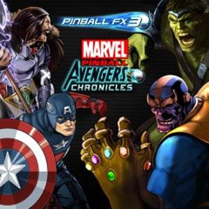 Pinball FX3 Marvel Pinball Avengers Chronicles