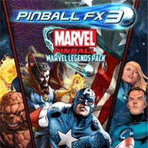 Pinball FX3 Marvel Pinball Marvel Legends Pack