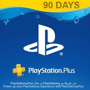 Playstation Plus 90 Jours PSN