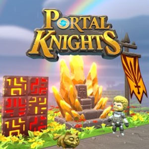 Portal Knights Gold Throne Pack