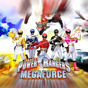 Acheter Power Rangers Megaforce Nintendo 3DS Download Code Comparateur Prix