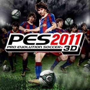 Acheter Pro Evolution Soccer 2011 3D Nintendo 3DS Download Code Comparateur Prix