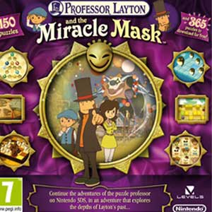 Acheter Professor Layton and the Miracle Mask Nintendo 3DS Download Code Comparateur Prix