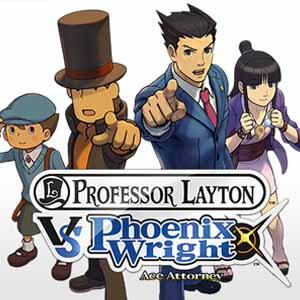 Acheter Professor Layton vs Phoenix Wright Ace Attorney Nintendo 3DS Download Code Comparateur Prix