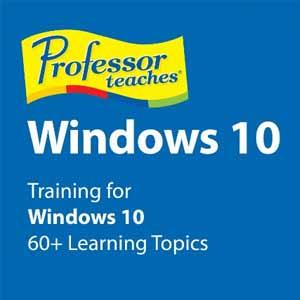 Acheter Professor Teaches Windows 10 Clé Cd Comparateur Prix