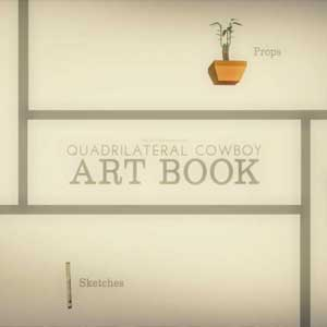 Quadrilateral Cowboy Art Book
