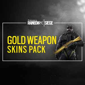 Acheter Rainbow Six Siege Gold Weapons Skin Pack Clé Cd Comparateur Prix
