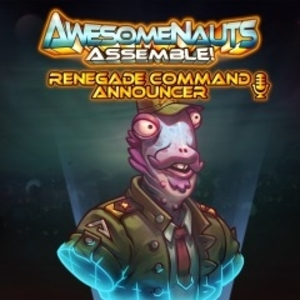 Renegade Command Awesomenauts Assemble Announcer