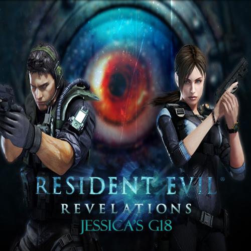 Resident Evil Revelations Jessica's G18