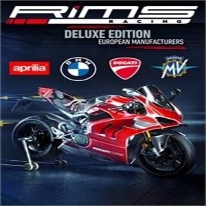 Acheter RiMS Racing European Manufacturers Deluxe PS4 Comparateur Prix
