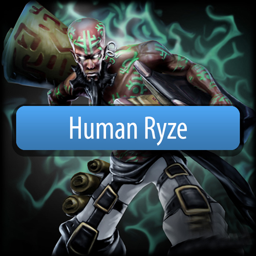 Riot Human Ryze League Of Legends Skin
