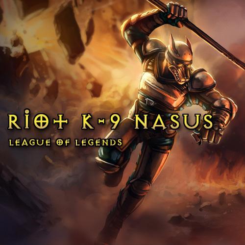 Acheter Riot K-9 Nasus League Of Legends Skins Gamecard Code Comparateur Prix