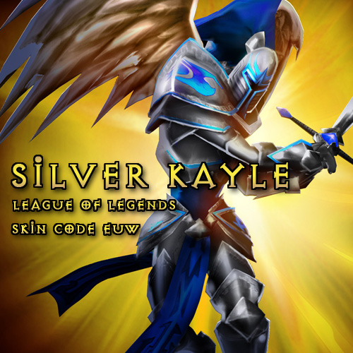 Riot Silver Kayle League Of Legends Skin EUW