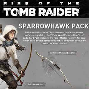 Acheter Rise of the Tomb Raider The Sparrowhawk Pack Clé Cd Comparateur Prix