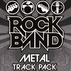Rock Band Metal Track