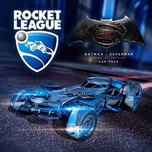 Rocket League Batman v Superman Dawn of Justice Car Pack